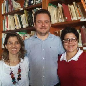 Minhas queridas alunas Solange Medeiros e Paula Faro que prestigiaram minha palestra.